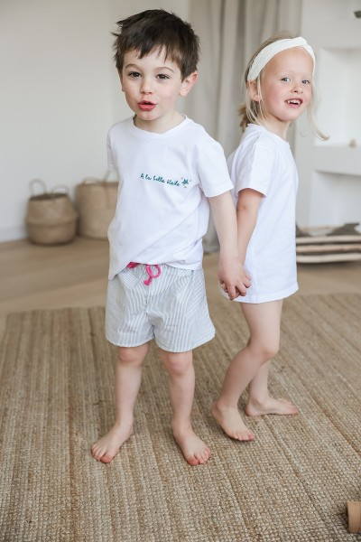 Le Tee-shirt Enfant à broder (ou pas)