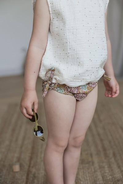 La culotte de bain (recharge tissus découpés)