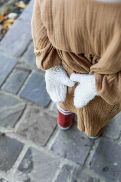 Les moufles à tricoter soi-même