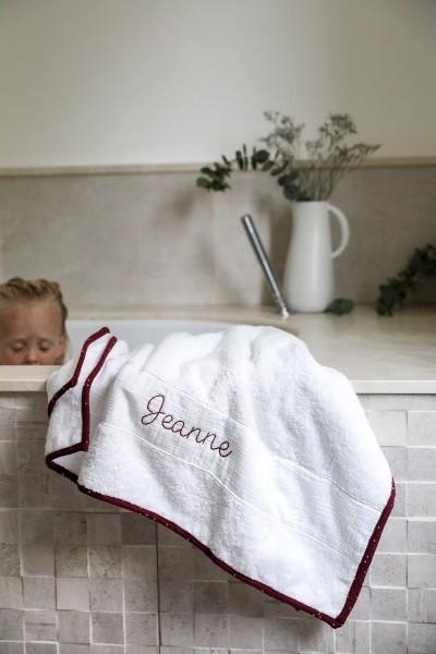 La serviette à coudre soi-même PRUNE