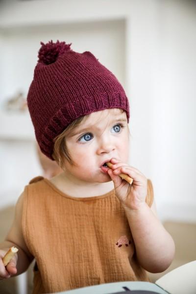 Le bonnet à tricoter soi-même